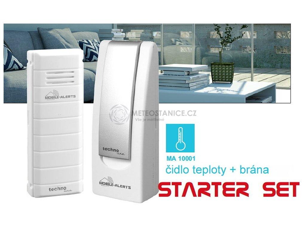 Monitorovací systém Technoline MOBILE-ALERTS, MA10001 Starter Set