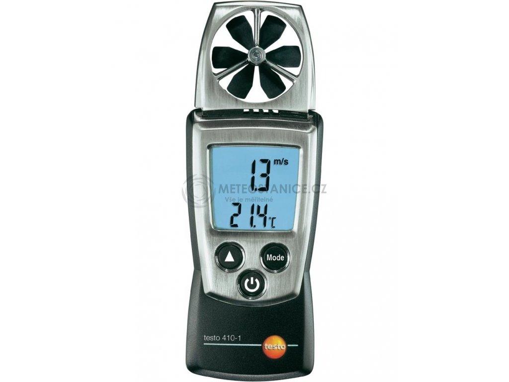 Anemometr - větroměr + měření teploty, testo 410-1