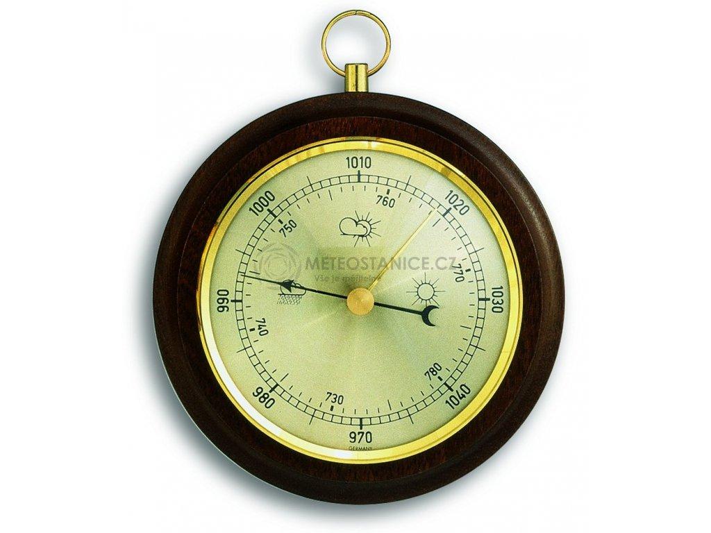 TFA 29.4001 - Analogový barometr ve dřevě - ořech