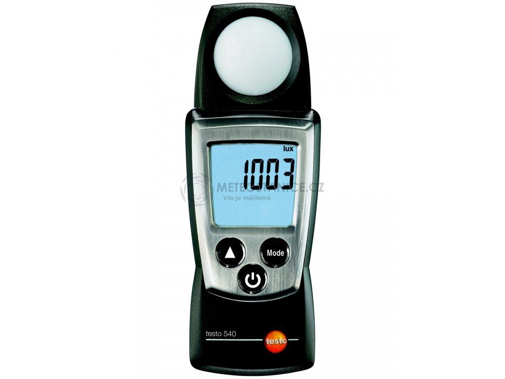 Kompaktní digitální LUXmetr testo 540 + kalibrační list