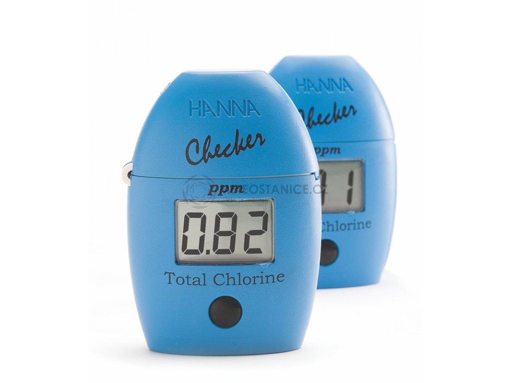 Chlórmetr, fotometr HI711 pro stanovení celkového chlóru ve vodě