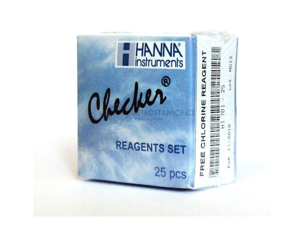 Reagence HI701-25 pro stanovení volného chlóru