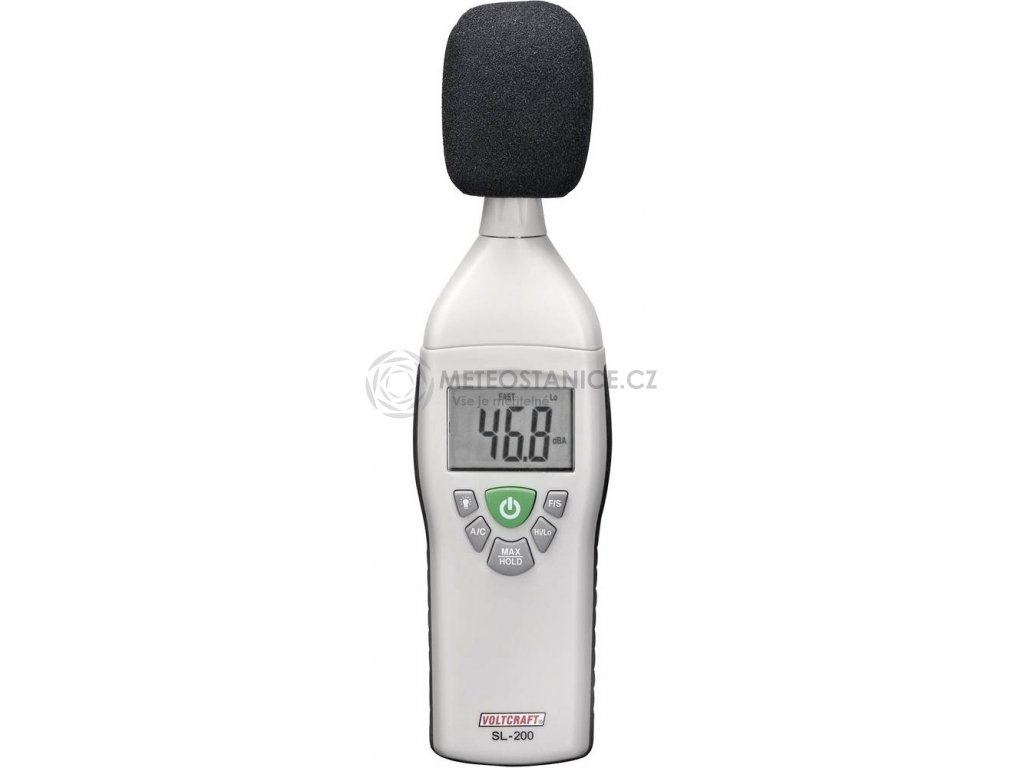 Hlukoměr Voltcraft SL-200,31,5 - 8000 Hz