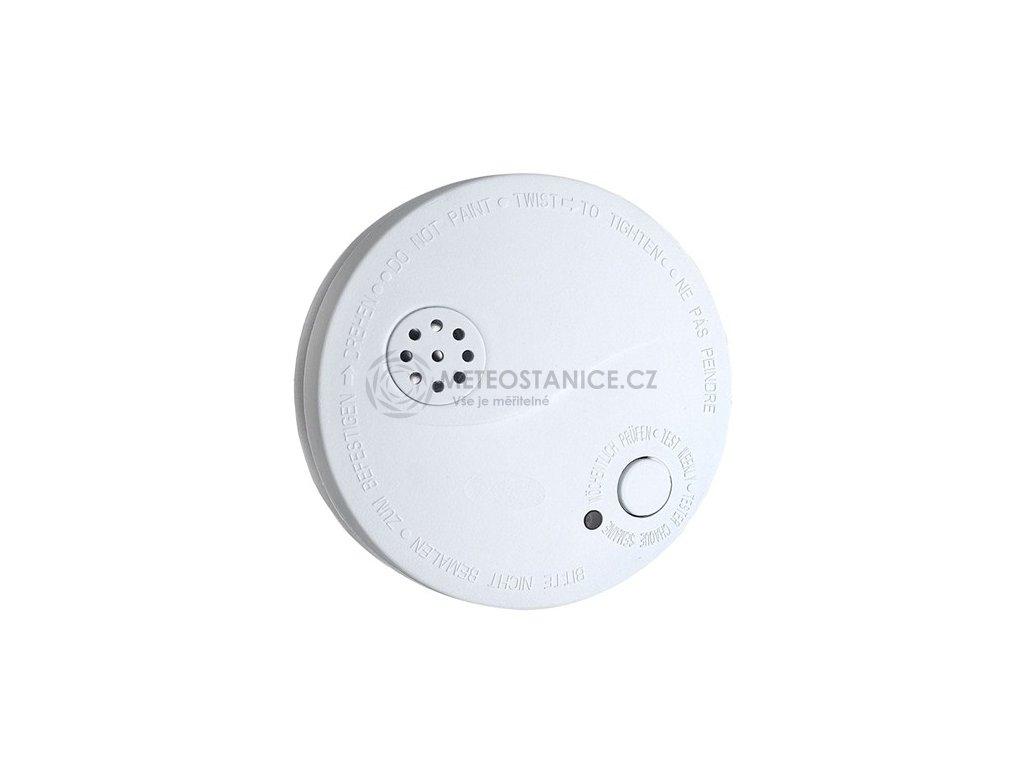 Solight 1D33   detektor kouře + alarm, 85dB, bílý + 9V baterie