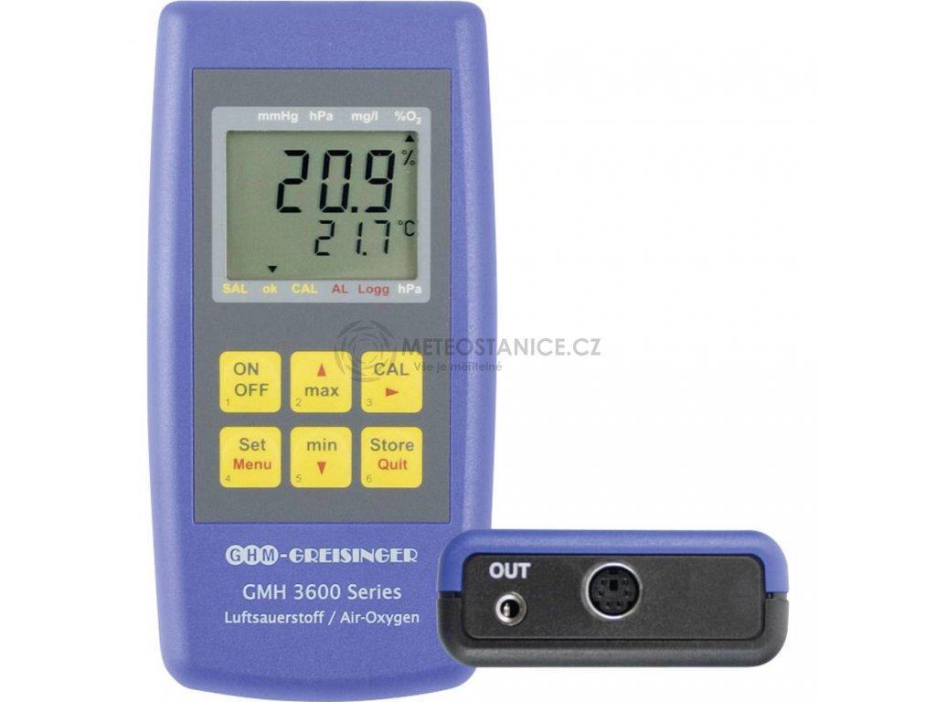 OXYmetr Greisinger GMH 3692 pro měření kyslíku ve vzduchu