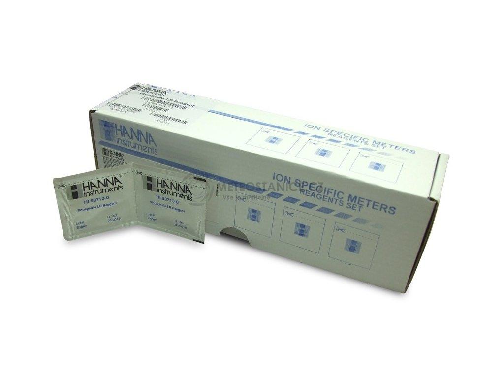 HI93732-01 - Reagencie pro stanovení rozpuštěného kyslíku, 100 testů