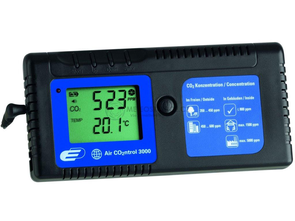 Indikátor CO2 TFA 31.5000 AirCO2ntrol 3000 + kalibrační list