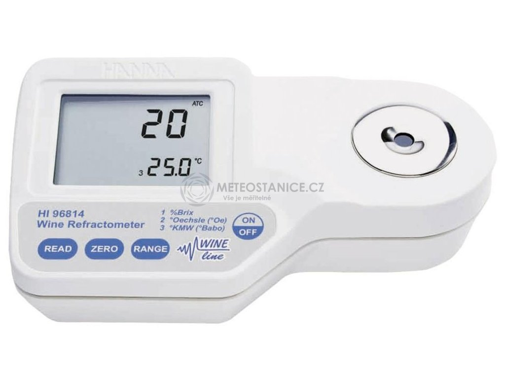 Digitální refraktometr Hanna Instruments HI 96814