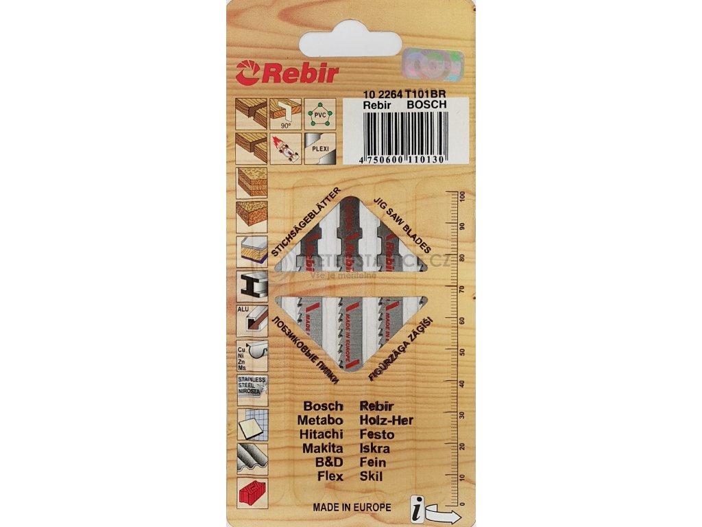 Pilové plátky do přímočarých pil   na dřevo, PLEXI   75 mm   čistý řez   5 kusů   102264