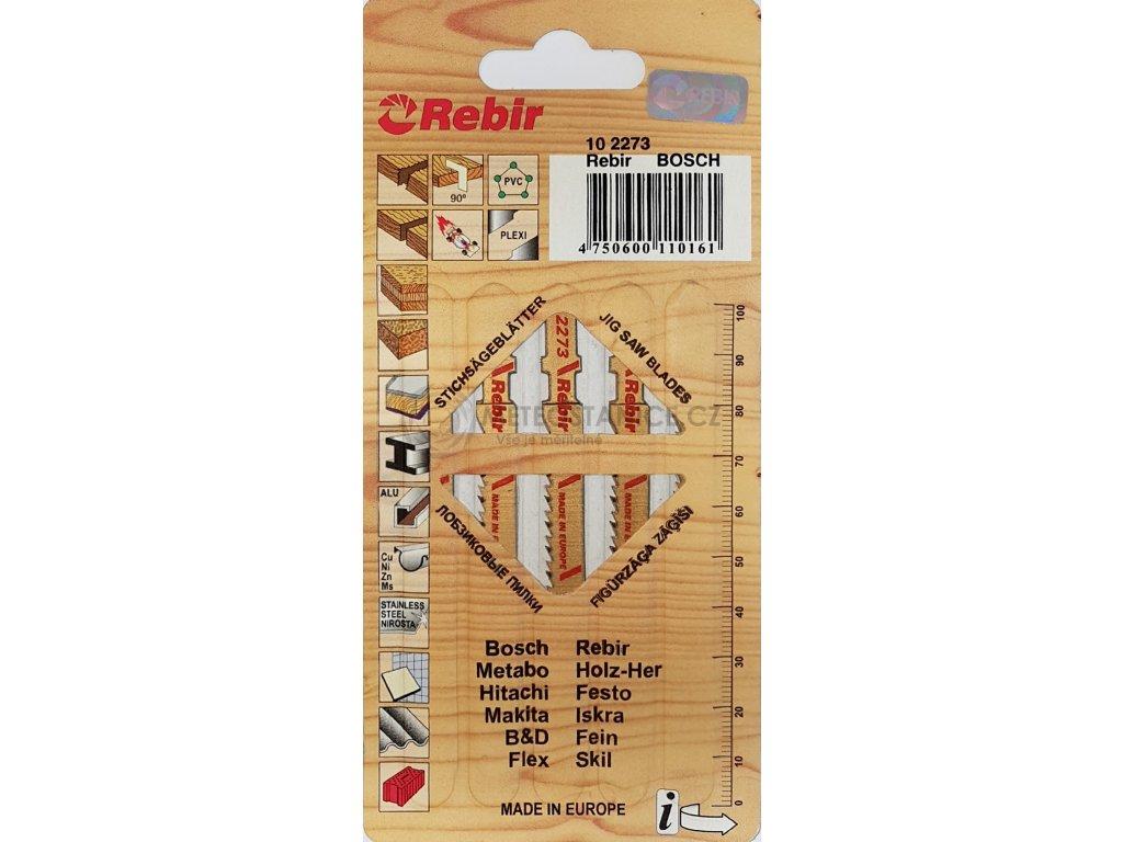 Pilky do přímočarých pil | na dřevo | 70 mm | čistý řez | 5 kusů | 102273