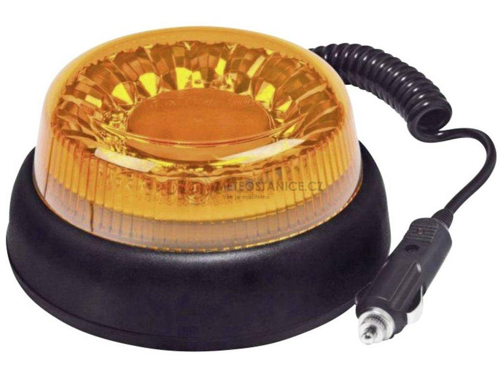 Maják do autozásuvky SecoRüt, 95111, s magnetem, oranžová