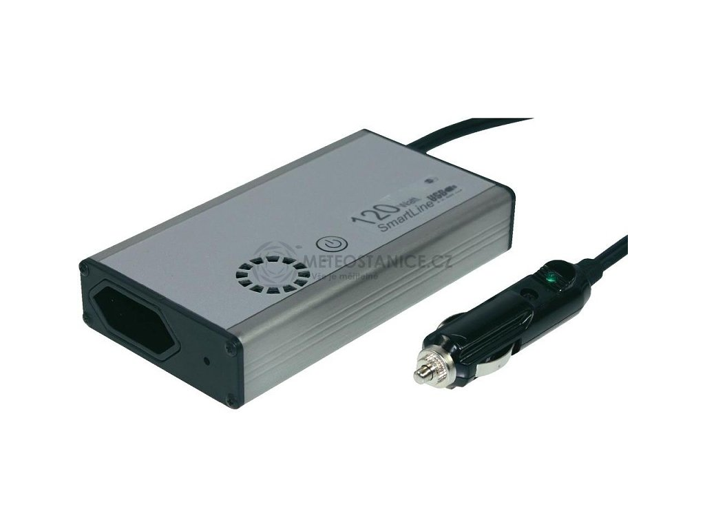 Plochý měnič napětí 12V 230V 120W, SL120-12