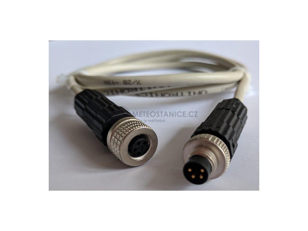 Kabel prodlužovací k sondě DIGIL a DIGIS s konektorem ELKA - 2 metry