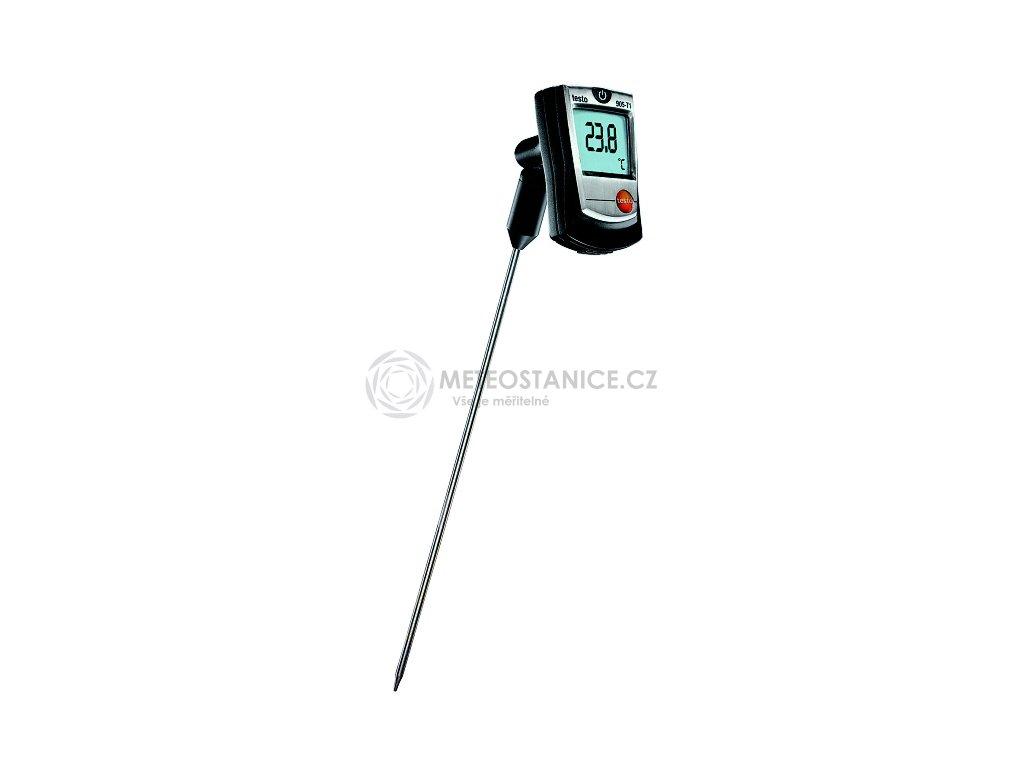 Rychlý vpichovací digitální teploměr, testo 905-T1
