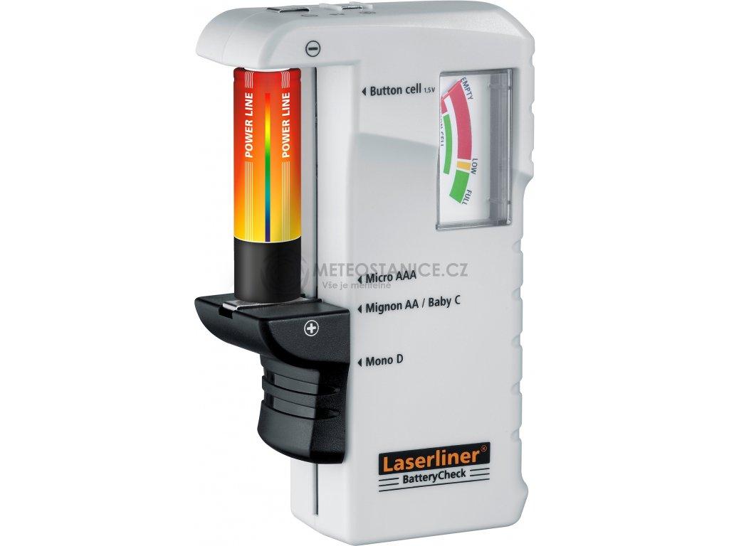 Tester baterií Laserliner BatteryCheck 083.005A