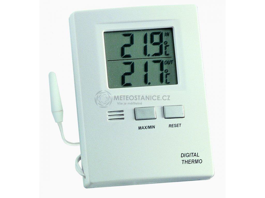 Digitální teploměr TFA 30.1012, ext. teplotní čidlo -50..+70 °C
