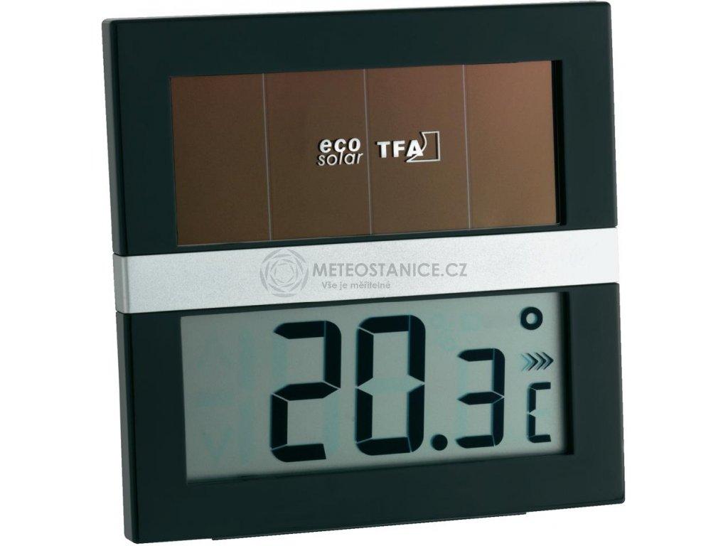 Digitální solární teploměr TFA 30.1037 ECO SOLAR