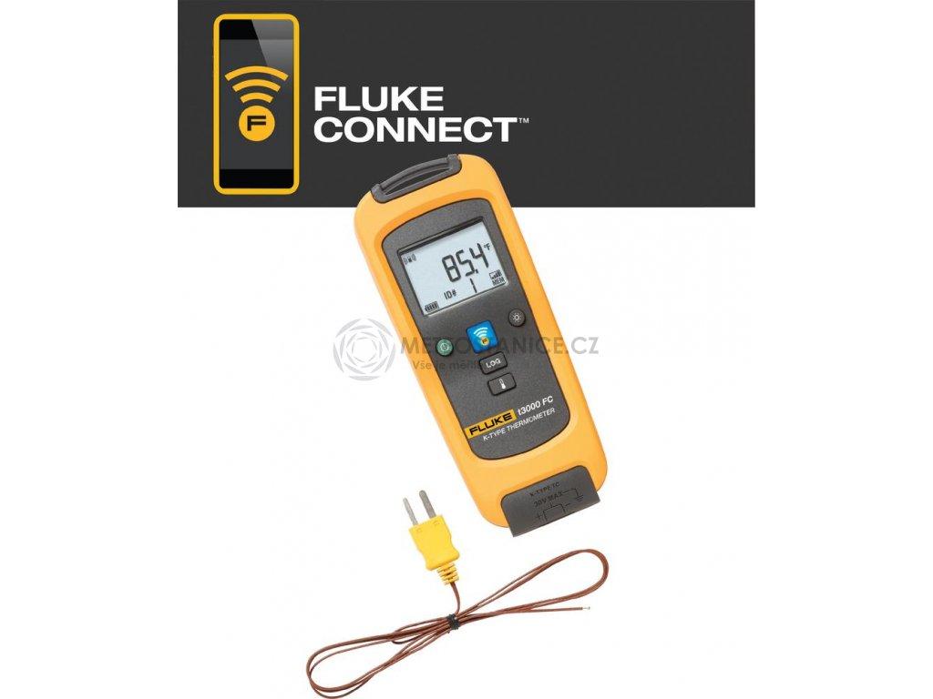Bezdrátový teploměr Fluke FLK-T3000 FC, -200 až 1372 °C, Fluke Connect, datalogger, 4401563
