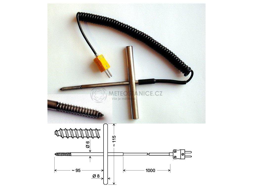 GGF 200; Zavrtávací termočlánkové teplotní čidlo
