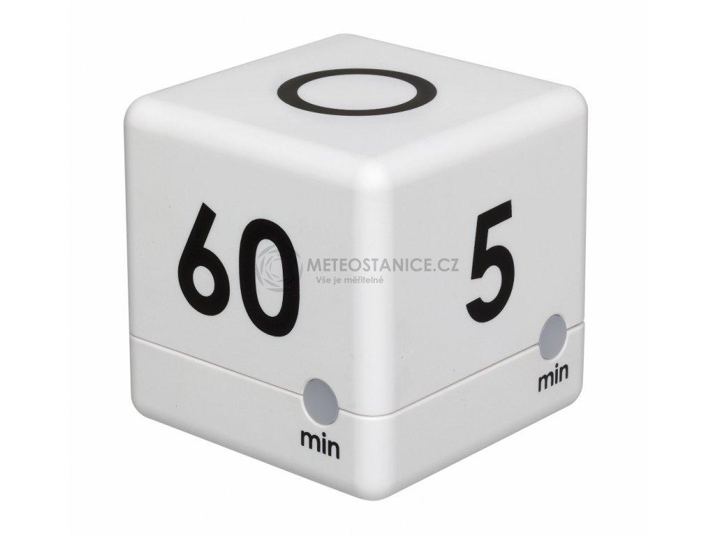 Timer - časovač TFA 38.2032.02 - bílá (5 - 15 - 30 - 60 minut)