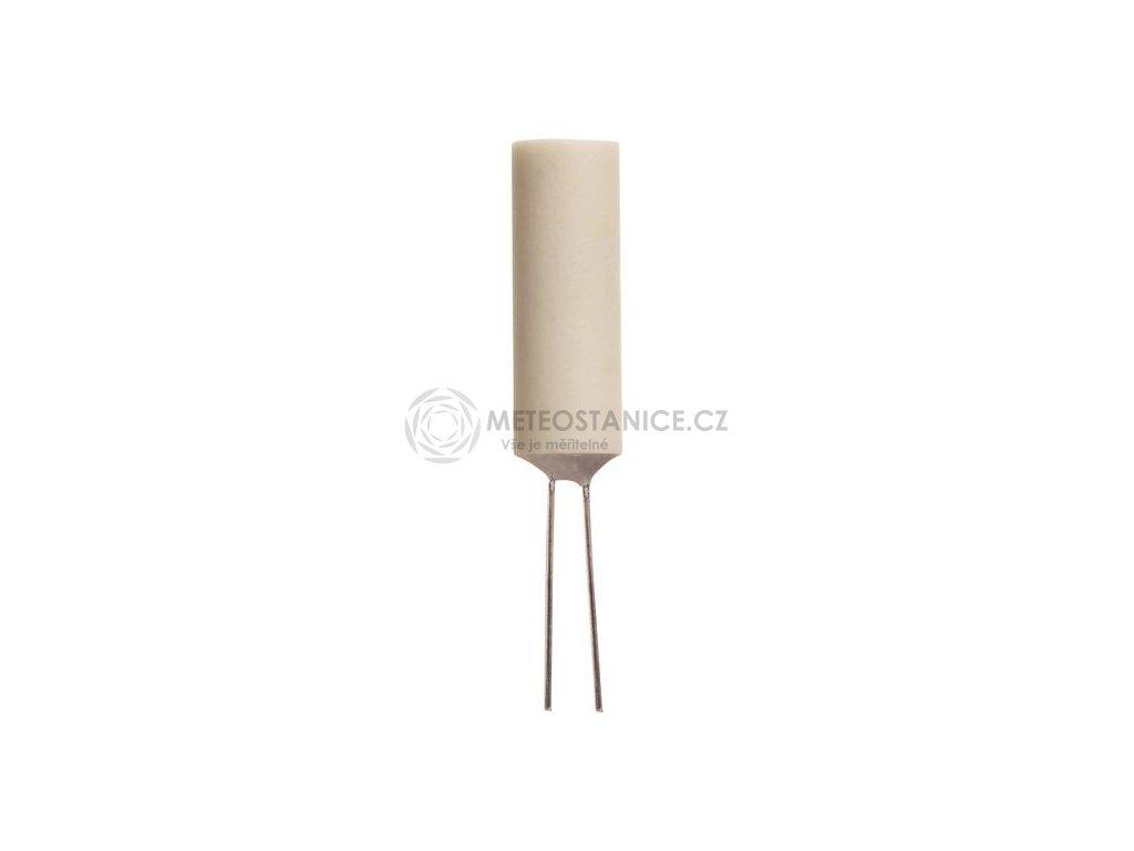 Platinový teplotní senzor v keramickém pouzdře Heraeus MR828, -70 - +500°C, Pt 1000