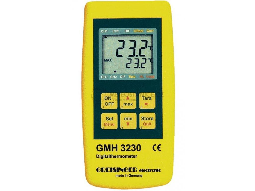 Teploměr Greisinger GMH 3231 | -220 až +1750 °C