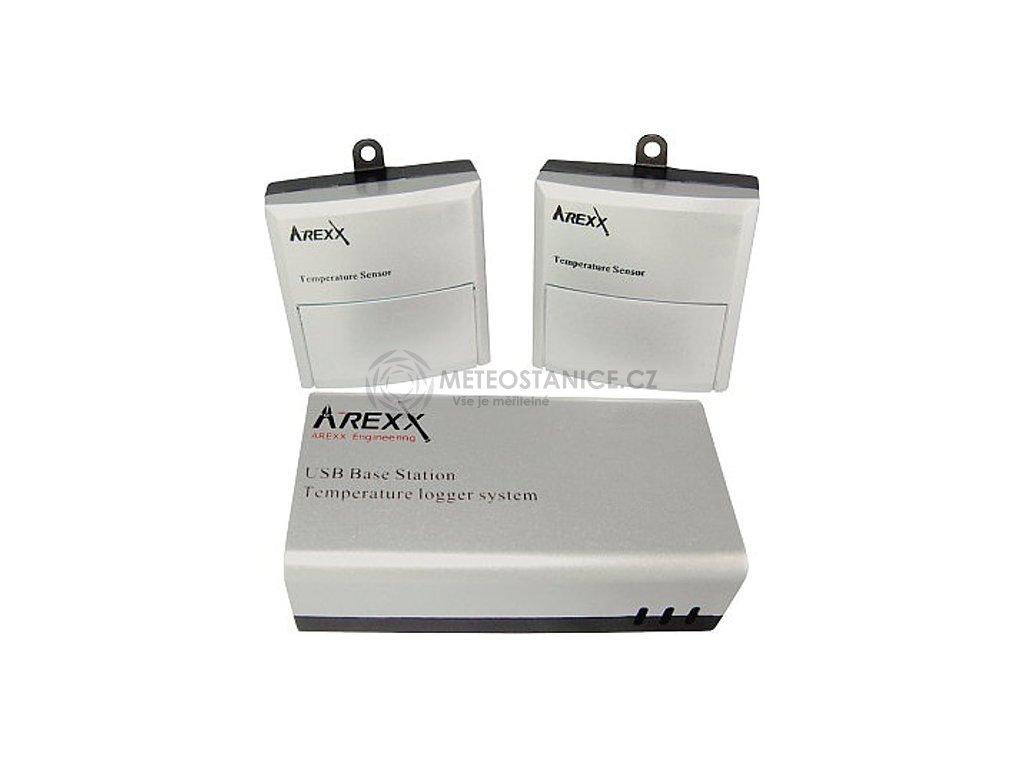 USB Logger záznamník vč. bezdrátových čidel teploty TL-510