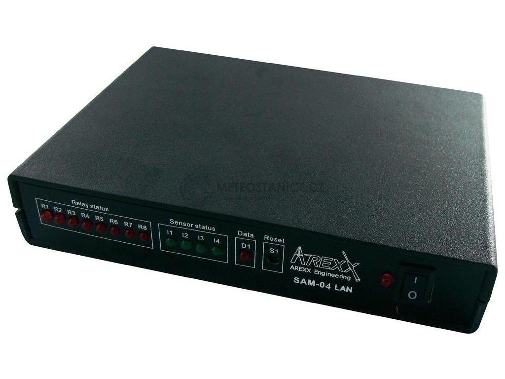 Síťový multilogger kontrolér AREXX SAM-04-LAN