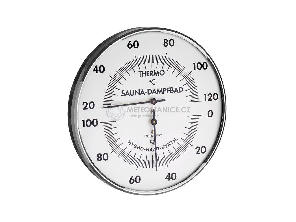 Saunový vlhkoměr a teploměr TFA 40.1032