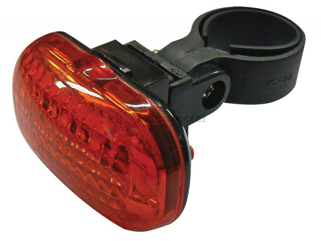 Zadní svítilna na kolo Emos P3910   3x LED   2x AAA   3 režimy svícení