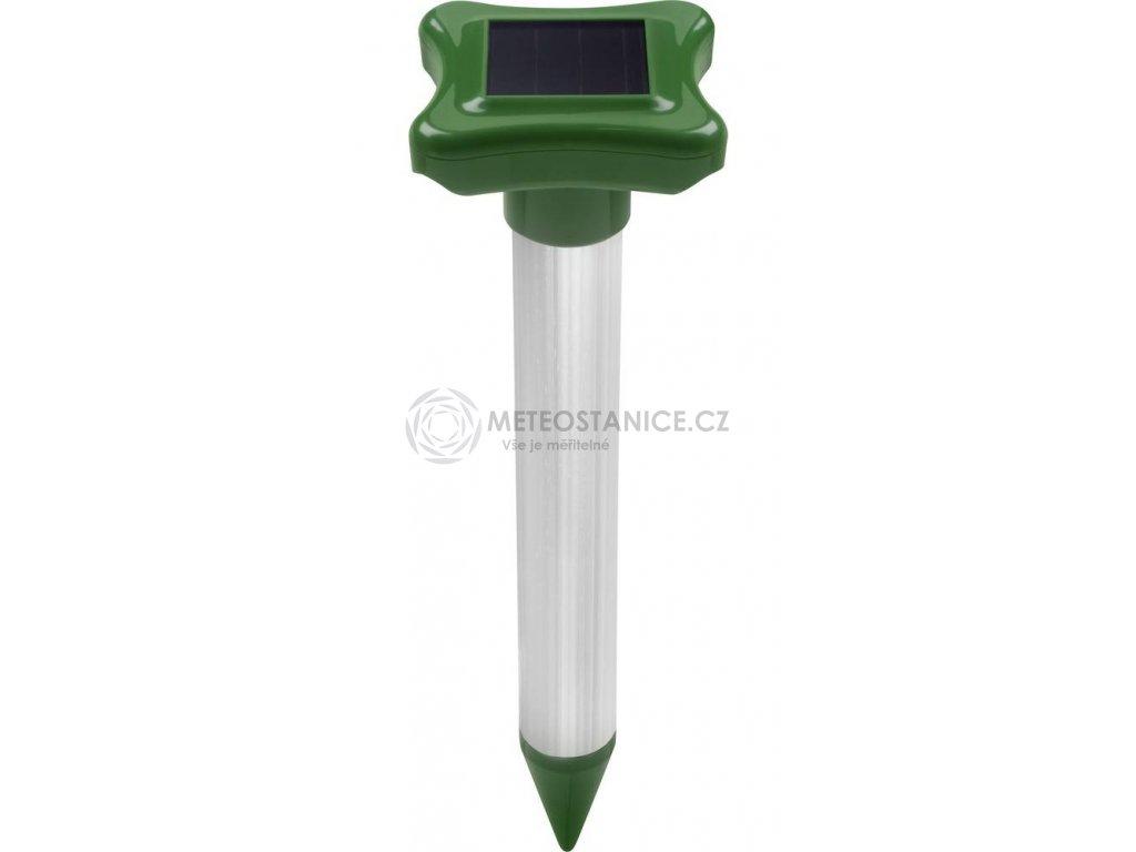 Solární odpuzovač mravenců Gardigo Ameisen 70030, účinnost: 700 m², 600 Hz, zelená/hliník