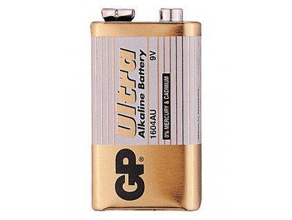 Destičková baterie 9V - GP Ultra Alkaline