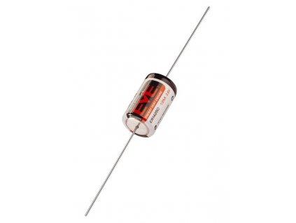 Lithiová baterie 1/2 AA - 3,6 V - 1200 mAh - pájecí vývody