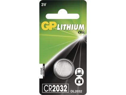 Knoflíková baterie - GP CR2032