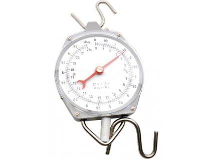 Levná závěsná váha - mechanický mincíř do 10 kg / 50 g