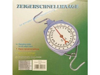 Levná závěsná váha - mechanický mincíř do 50 kg