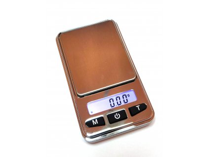 Kapesní váha Basetech SJS-60008, max. váživost 200 g, rozlišení 0.01 g, na baterii, stříbrná