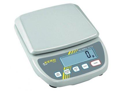 Levná citlivá digitální váha Kern EMS 12K0.1; do 12 kg