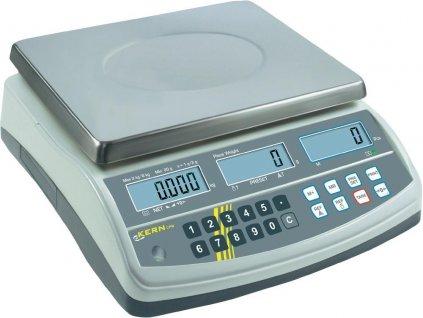 Přesná počítací digitální váha KERN CPB 6K0.1N se třemi displeji do 6 kg