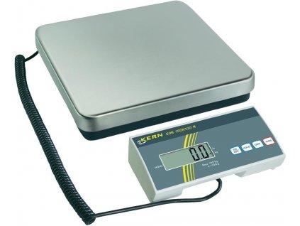 Levná digitální balíková váha KERN EOB 150K50; 150 kg/50 g