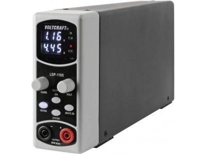 Laboratorní napájecí zdroj Voltcraft LSP-1165, 0,1 - 36 V/DC, 5 A, 80 W
