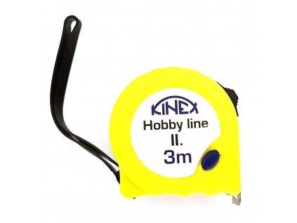 Svinovací metr KINEX Hobby Line II 3m; 8002-2
