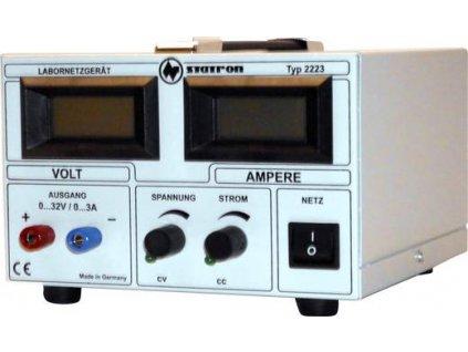 Laboratorní zdroj s nastavitelným napětím Statron 2223.2