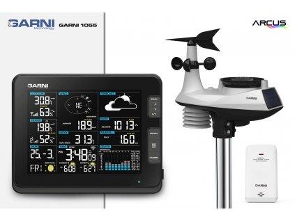 Wi-Fi meteorologická stanice GARNI 1055 Arcus