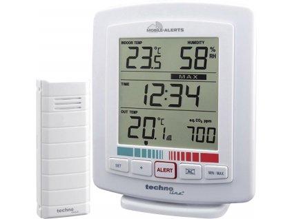 Bezdrátový teplotní/vlhkostní/CO2 senzor Mobile-Alerts WL 2000