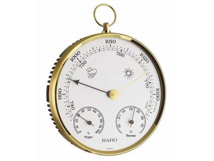 Analogový barometr-teploměr-vlhkoměr TFA 20.3006.42, stříbrný