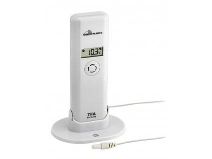 Bezdrátové čidlo teploty a vlhkosti s kabelovým senzorem TFA 30.3304.02 pro WEATHERHUB