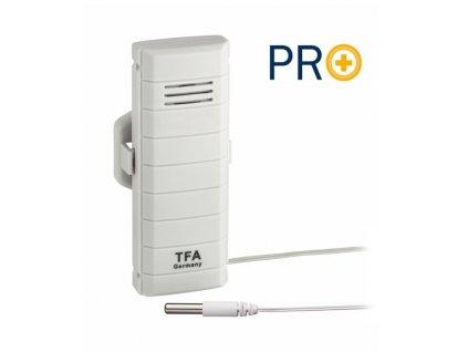 Vysílač s vodotěsným čidlem na kabelu kompatabilní se systémem WEATHERHUB TFA 30.3308.02