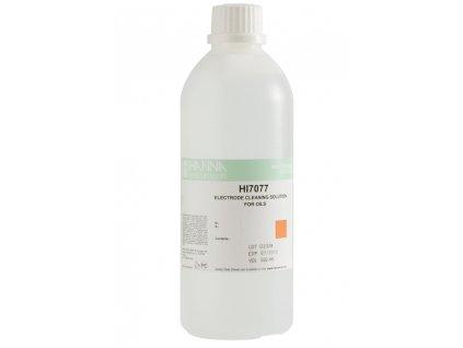 HI 7077M; Čistící roztok pro pH, ORP a vodivostní elektrody na tuky a oleje, 230 ml