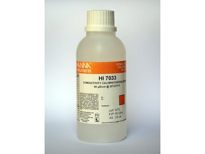 Kontrolní roztok měrné vodivosti 84 µS cm - 500 ml (HI 7033L)